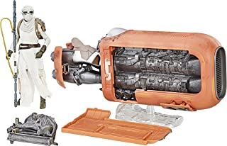 STAR WARS Figura de Acción Black Series Rey's Speed