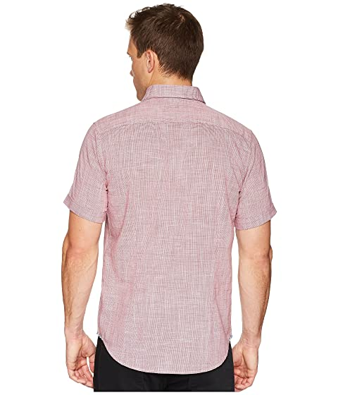 manga roja de Isia Modern camisa Americana Graham Robert tejida corta wYpzqvR
