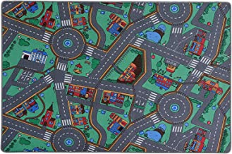 casa pura Kids Play Mat - Kids Rug for Playroom, Non Toxic Anti-Slip | Car Rug Play Mat Suitable for Bedrooms & Nursery | My Town - 38