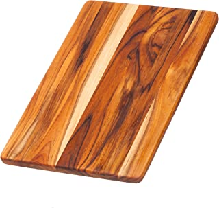 Teakhaus Teak Cutting Board - Rectangle Chopping And Serving Board (13.75 x 9.5 x .55 in.) - By