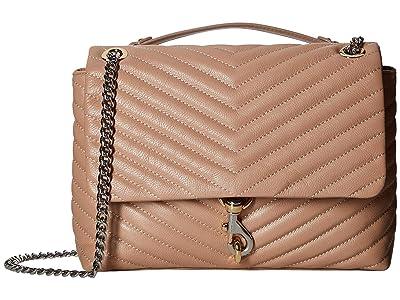 Rebecca Minkoff Edie Flap Shoulder Bag (Doe 1) Handbags