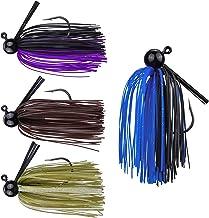 RUNCL Anchor Box - Bass Fishing Jigs - Flipping Jigs, Swim Jigs, Football Jigs - Spike Trailer Keeper, Silicone Skirts, St...