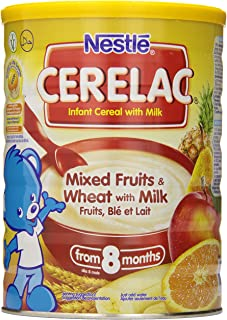 Nestle Cerelac Infant Cereal, Mixed Fruits & Wheat with Milk 1kg (35.27oz)
