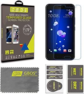GBOS® Tempered Glass for HTC M10 U Play U11 U11 Life Genuine Screen Protector 3D 9H (HTC U11 Life)