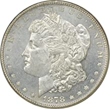1878-P Morgan Silver Dollar, 7/8TF Strong, MS63PL, Uncertified