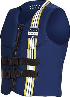 Billabong Dbah CGA Wake Vest Top Slate - Unisex - Wakeboarding Vest - Front Zip Entry