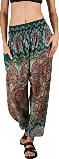 patterned harem pants outfits