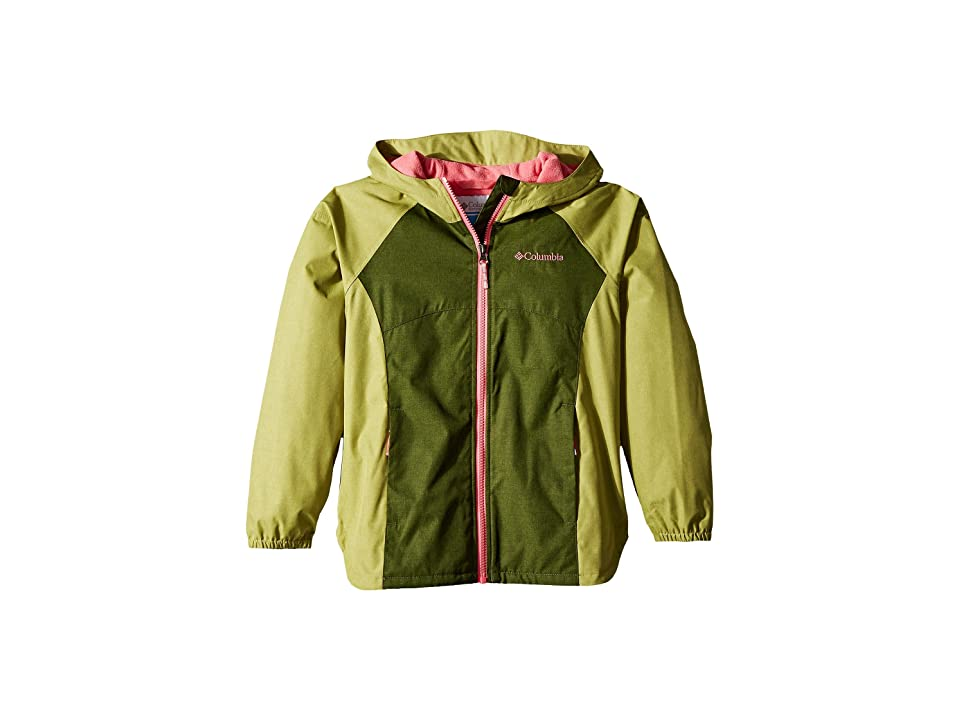 Columbia Kids Endless Explorer Jacket (Little Kids/Big Kids) (Pesto/Pear) Girl