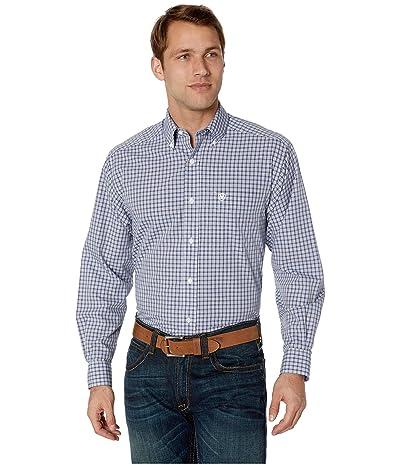 Ariat Wrinkle Free Laker Shirt (White) Men