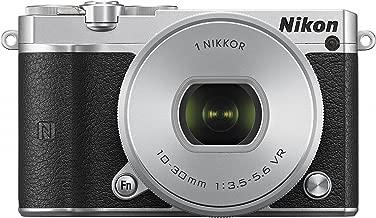 Nikon Digital SLR camera standard power zoom lens kit Silver Nikon 1 J5 - International Version