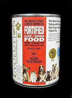 Evolution Diet Vegetable Stew Moist Dog Food Full 24 Can Case