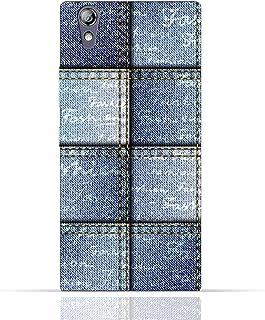 Lenovo P70 TPU Silicone Case with Denim Fabric Seamless Design Design
