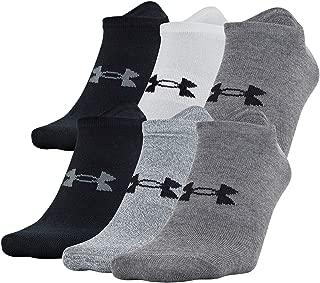 Men's Essential Lite No Show Socks 6-pair