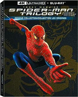 Spider-Man / Spider-Man 2 / Spider-Man 3 - 4K UHD/Blu-ray/UltraViolet (Bilingual)