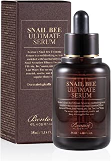 BENTON Snail Bee Ultimate Serum Mucine et Venin Anti-âge et anti-imperfections 35ml