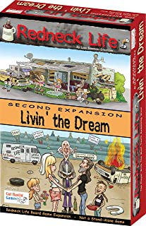 Gut Bustin' Games Livin' The Dream : Redneck Life Board Game Expansion 2 Board Games