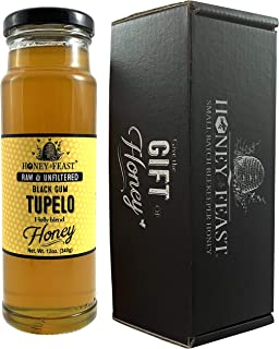 Sponsored Ad - Honey Feast - Raw Black Gum TUPELO Honey   from Organic American floral sources   Unfiltered & Pure Superfo...