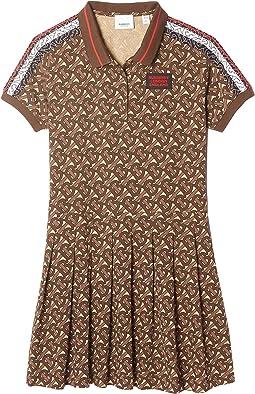 Monogram Polo Dress (Little Kids/Big Kids)