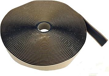 """GSSI Sealants Butyl Tape 1/8"""" x 1"""" x 50' Black: image"""