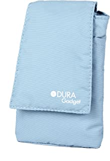DURAGADGET Blue Nylon Cushioned Case Pouch Compatible with Goodmans Pocket Sized Digital & FM Radio
