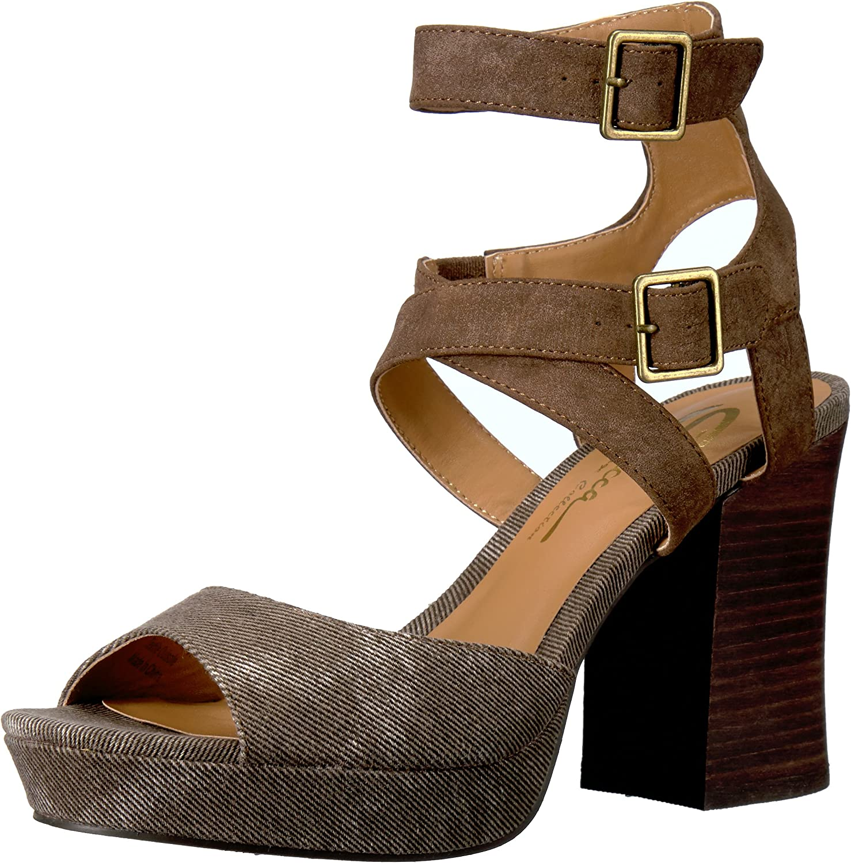 Sbicca Sbicca Sbicca kvinnor Gear Heeled Sandal  Fri och snabb leverans tillgänglig