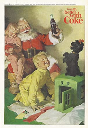 1964 Vintage Magazine Advertisement Coca-Cola, Things go better with Coke