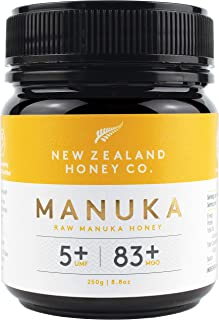 New Zealand Honey Co. Raw Manuka Honey UMF 5+ / MGO 83+ | 250g