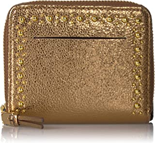 Cole Haan Women's Marli Glitter Studding Small Zip Wallet