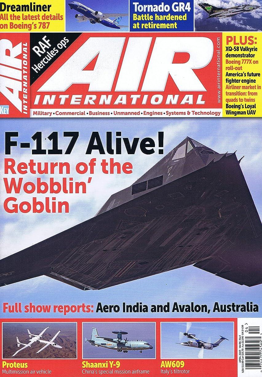 プラットフォーム世界管理Air International [UK] April 2019 (単号)