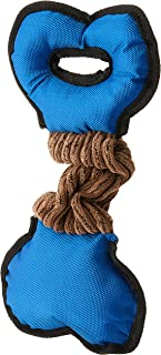 HOUZE Pet Toy Tug Bone, Blue