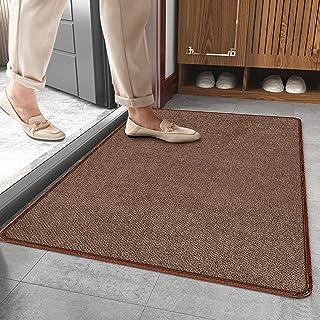 Door Mat Indoor Entrance Front Indoor Outdoor Doormat Welcome Mat Low-Profile Floor Rug for Entryway Rug Shoe Scraper Wash...
