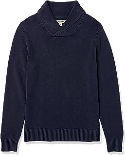 Amazon Brand - Goodthreads Men's Soft Cotton Shawl Collar Sweater