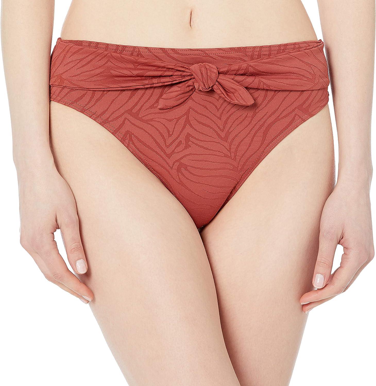 Roxy Women's Standard Wild Babe Mid Waisted Bikini Bottom