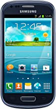 Samsung Galaxy S3 Mini GT-i8200 Unlocked Cellphone, International Version, Retail Packaging, Blue