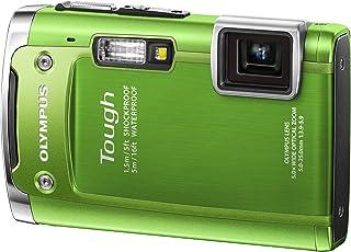 OLYMPUS 防水デジタルカメラ TOUGH TG-615 グリーン 5m防水 1.5m対落下衝撃 -10度耐低温 1400万画素 3Dフォト機能 Eye-Fiカード対応 TG-615 GRN