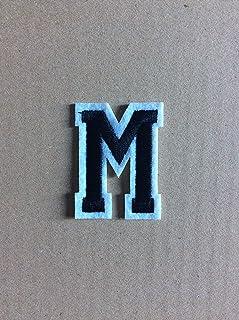 Toppa Ricamata IN FLAMES Blue Hayi M393 9 x 10 cm