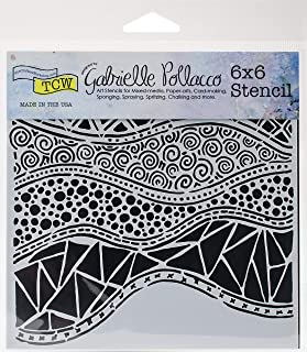 CRAFTERS WORKSHOP TCW743S Template 6