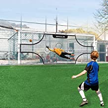 AKOZLIN Soccer Soccer Field Nets Target Sheets Attach to Your Goal for The Ultimate Accuracy Training Partner