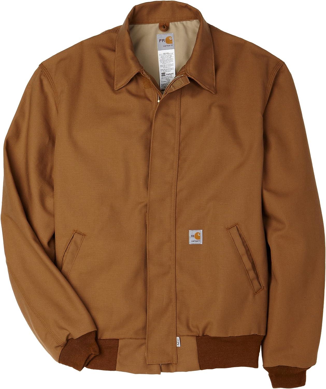 Carhartt Men's Big & Tall Flame Resistant All Season Bomber Jacket