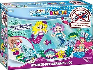 CRAZE Splash BEADYS Mermaid & Co. Syrenka perły do prasowania perły do prasowania bez prasowania, zestaw startowy do majst...