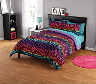 rainbow zebra bedroom ideas