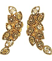Oscar de la Renta - Milgrain Petal C Earrings