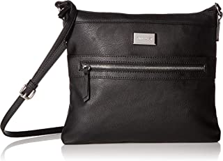 Womens Sure Spring Crossbody Black One Size