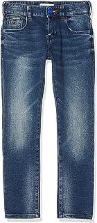 Scotch & Soda Strummer Sweat Denim-Light Washed Pantalones para Niños