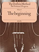 The Doflein Method for Violin Volume 1: The Beginning by Erich Doflein and Elma Doflein