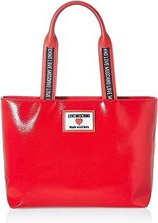 Love Moschino Damen Precollezione Ss21 Sporty Label Shopper, Einheitsgröße