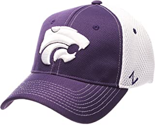 new styles be4a1 aa60c Zephyr NCAA Kansas State Wildcats Men s Rally Z-Fit Cap, X-Large,