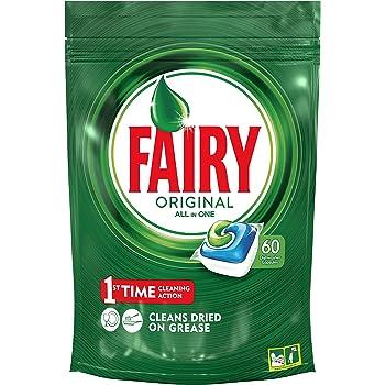 Fairy Original Cápsulas Todo en 1 para Lavavajillas - 84 cápsulas ...
