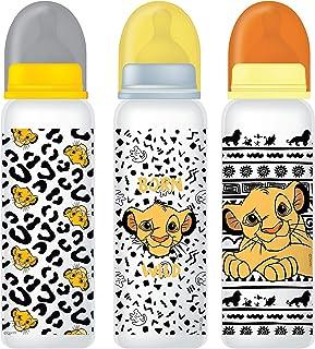 Disney - BPA Free Baby Feeding Bottle 9oz, 0+ Months, Pack of 3, 250ml - Lion King