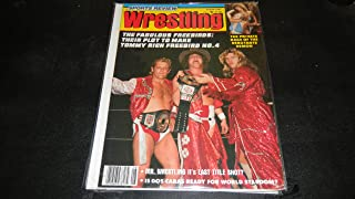 Sports Review Wrestling Magazine August 1981 the Fabulous Freebirds